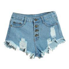 夏セクシーな女性の不規則なハイウエストショートパンツファッションスリムフィットデニムジーンズショーツ