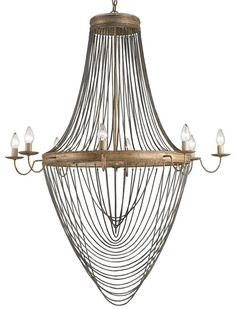 Lucien Chandelier by Currey and Company | 9412-CC
