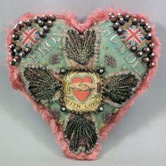 Late 19th C Soldier's Valentine