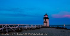 Brant Point Lighthouse at Dusk by Michael Pancier Photography, via 500px
