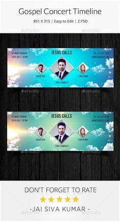 Gospel Concert Timeline