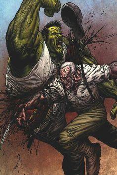 Hulk vs Wolverine old. The good old days