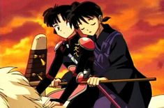 Sanga and Miroku gif