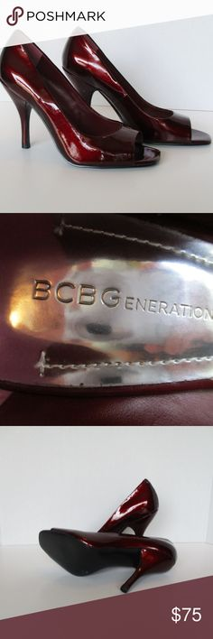 BCGBEneration Wine Colored Heels Sleek & Super Sexy. New without tags. BCBGeneration Shoes Heels