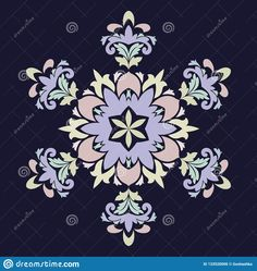 Ornate six point star or mandala with vintage motifs. Illustration about nature, drawing, beautiful, background - 133520006 Nature Drawing, Mandala, Stars, Abstract, Drawings, Illustration, Floral, Vintage, Beautiful