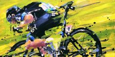 PAINTING LE TOUR: TDF stage 8 Frooome!
