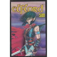ELFLORD #1   $3.60   1986   VOLUME 1   AIRCEL   COMIC BOOK
