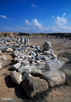 Basilica of Arcadius, ruins of monastery complex and Christian pilgrimage site of Abu Mina or Abu Mena (Unesco World Heritage List, 1979), Egypt