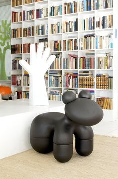 Pony chair. Designed by Eero Aarnio (Finland) in 1972.