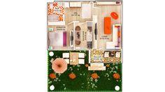 APARTAMENT LILY GARDEN- 2 CAMERE Suprafaţă construită: 56 mp Suprafaţă utilă: 45.57 mp Aparatament disponibil doar pentru PARTER Se vinde cu GRADINA PRET: 44.900e + TVA 5% Apartments, Concept, Holiday Decor, Home Decor, Decoration Home, Room Decor, Home Interior Design, Home Decoration, Penthouses
