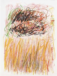Joan Mitchell - Flower I, 1981, lithograph in colors