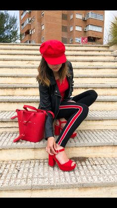 Red is the MUST HAVE colour this season. What's your #SpringStyles?
