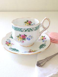 Vintage Rosina English Fine Bone China Tea Cup by MariasFarmhouse