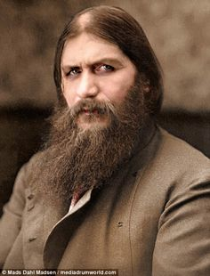 Rasputin met a grisly end in 1916...when he was poisined, shot, beaten and throwen in a river by nobles fearful of his influence with the Czar