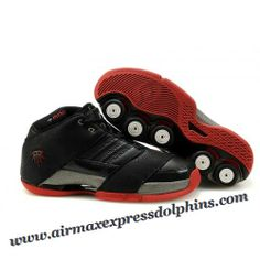 Adidas T-Mac 6 Tracy McGrady Shoes Black Red Discount