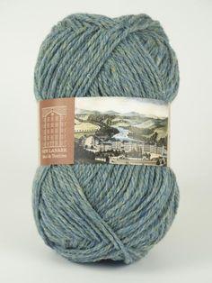 Blue Lovage Aran Wool #knitting #knit#wool #handknitting #newlanark #scotland #scottish #aran #100%wool  #purewool