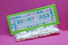 Bunny Tails, for my preschool kids!