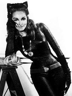 Batman 1966 Catwoman | Catwoman (Julie Newmar) Batman (1966-68) After school, my brother and ...