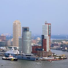 "@jeroenvandam's photo: ""Ships & Towers"""