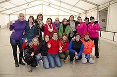 La Marxa Nòrdica de Calafell també tenen un gran cor. Sortida solidària per @la_marato 13/12/2014