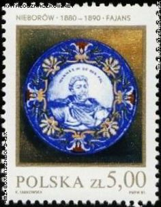 Znaczek nr: 2599 - Polska ceramika szlachetna