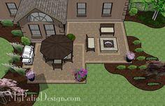 Backyard Patio Ideas on a Budget- Patio Designs & Ideas