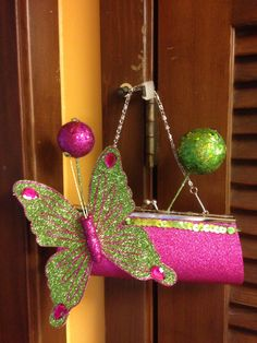 NYX purse-2014...butterfly balls  created by Glitter365