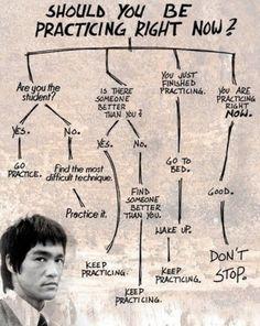 Bruce Lee is my hero.