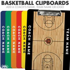 Basketball coaches will love being able to quickly draw - and revise - plays on the surface of this dry erase clipboard while keeping their papers in order. Basketball Schedule, Basketball Party, Basketball Gifts, Basketball Funny, Basketball Quotes, Basketball Drills, Basketball Coach, Sports Gifts, College Basketball