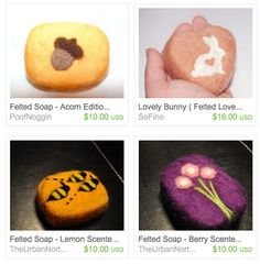 Needle Felted Soap - Totally Stitchin