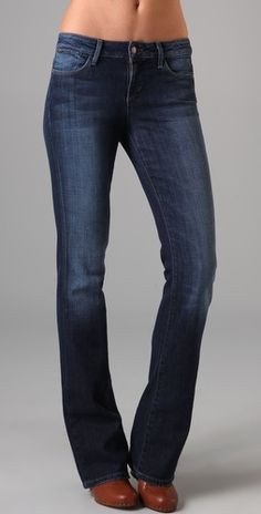 Joes Jeans are made for real women. They are made to fit women who have a little extra on the back side.
