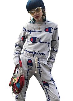 35868509170a Long Sleeve Printed Unisex Jogger Set Two Piece Jumpsuit
