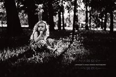 Black and white photography, child photography