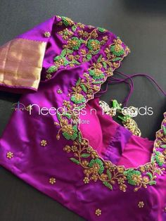 HappyShappy - India's Own Social Commerce Platform Cutwork Blouse Designs, Wedding Saree Blouse Designs, Best Blouse Designs, Simple Blouse Designs, Blouse Neck Designs, Hand Work Blouse Design, Designer Blouse Patterns, Hand Designs, Sarees