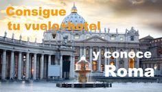 Quieres convertirte en un auténtico Italiano??     No te pierdas nuestras OFERTAS de Vuelo+Hotel para ir a Roma!!     www.reservalis.com/vuelohotel