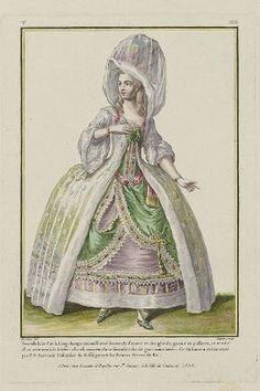 Museum of Fine Arts, Boston Costume Français, Costumes, Rococo Fashion, Vintage Fashion, Women's Fashion, Rose Bertin, Theatrical Scenery, 18th Century Fashion, Historical Costume