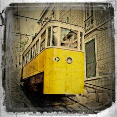 """Lisbon's Elevator Tram  From my """"Grunge"""" portfolio. Feel free to visit my web page at www.pedronogueiraphotography.com"""