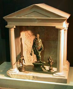 lararium - altar or sacred place in the home for offerings to the various Gods.