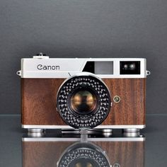 Canonet Walnut http://store.ilottvintage.com/canonet-walnut
