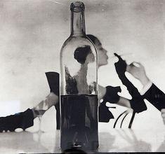 Ирвин Пенн. Мужчина, зажигающий сигарету девушки. 1949 г.