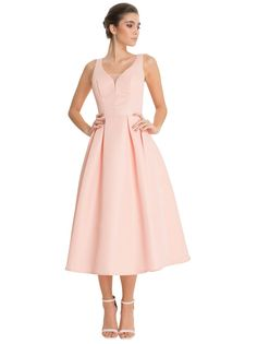 Chi Chi Suzi Dress potential bridesmaid depending on how pink it is... looking for blush or dusty rose.