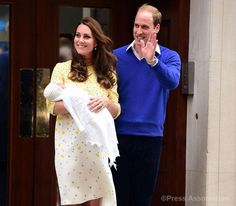 https://flic.kr/p/sorVHs | The Duke and Duchess of Cambridge introduce their daughter | The Duke and Duchess of Cambridge introduce their daughter, born today at the Lindo Wing, St. Mary's Hospital, Paddington, London, 2 May 2015. ©Press Association