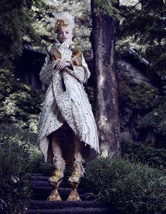 'The Secret Chatter Of Golden Monkeys' Daphne Groeneveld by Mark Segal for Vogue Japan November 2012 [Editorial]