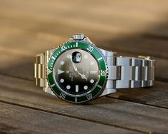 Every gentleman needs a classic time piece this Rolex Submariner is classic.
