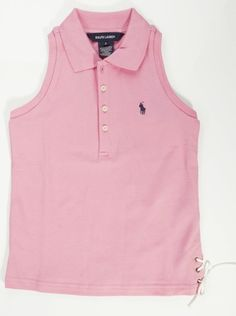 Girls Ralph Lauren Sleeveless Polo Top