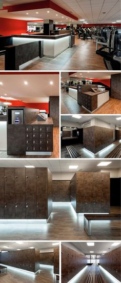 Reception desks, Reception desk, Gym lockers, Gym locker, Storage lockers, Storage locker by GRUPPO P&G