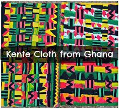 Ghana Kente Cloth for Kids- Kid World Citizen