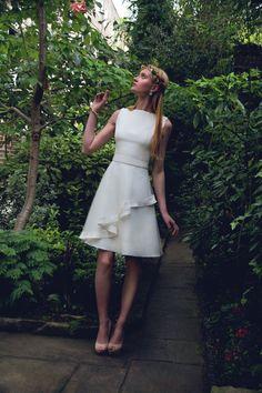 Castle Short Wedding Dress
