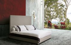 A collection of luxury mattresses, beds and bedroom furniture handmade in Italy. Elegant design and natural materials, such us cashmere, wool and silk. Bedroom Furniture, Outdoor Furniture, Outdoor Decor, Mattress, Elegant, Luxury, Beautiful, Design, Home Decor