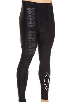 WOD Gear Black Compression Pants — CrossFit Gear — Fitness Apparel - Men's Fitness - Page 6